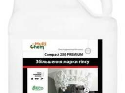 Пластификатор для увеличения прочности гипса Compact 250 Premium. Концентрат. 5л