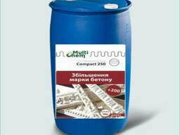 Пластификатор для увеличения прочности гипса Compact 250 Premium. Концентрат, бочка 200 л