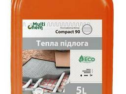 "Пластификатор ""Тёплый пол"" Compact 90 Euro для бетона, стяжки, 5 л"