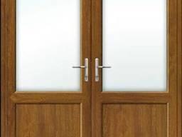 Пластиковая межкомнатная штульповая дверь ламинация с. ..