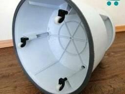 Тумба на роликах. Тумба подставка для выкладки. made in Denmark