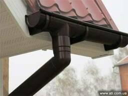 Пластиковая водосточная система Profil, Nicoll - фото 1