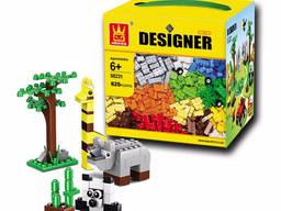 Пластиковый конструктор Wange Designer 625 частей
