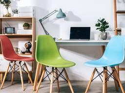 Пластиковый стул Тауэр Вуд Eames