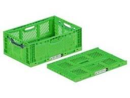 Пластиковый ящик 600х400х230 мм ( Складывающийся )