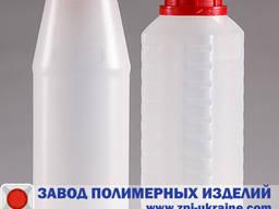 Пластиковые бутылки круглые R-01 емкостью 1 литр