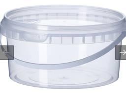 Пластиковые контейнеры ведра по 0,500 л опт/розница