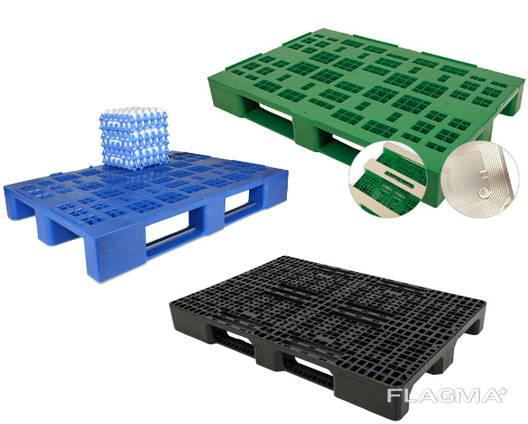 Пластиковые паллеты, пластиковые поддоны, палети, піддони