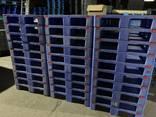 Пластиковые поддоны 105*105 складываются 1в1 под 1000кг динамика - фото 4
