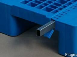 Пластиковые поддоны для склада 1200х800 мм, усиленные