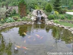 Пластиковые садовые пруды, Изготовление прудов - фото 5