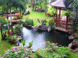 Пластиковые садовые пруды, Изготовление прудов - фото 8