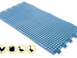 Пластиковые щелевые полы для птицы 1150х630 мм. ..