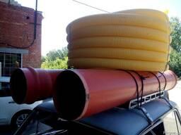 Пластиковые трубы дренажные 50, 80, 100, 160, 200 мм в DN