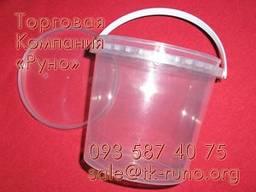 Пластиковые ведра по доступной цене.