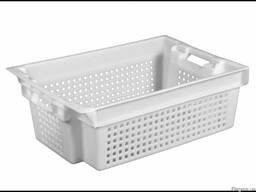 Пластиковые ящики для заморозки рыбы 600 x 400 x 200