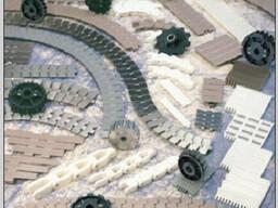 Пластинчатые ацеталовые транспортерные цепи 3,048м. - фото 2