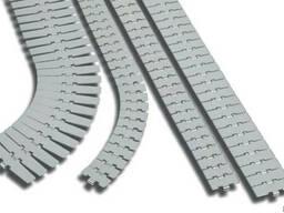 Пластинчатые ацеталовые транспортерные цепи 3,048м. - фото 3