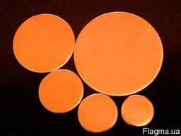 Пластины медные ручной работы (медь 99.9 %)