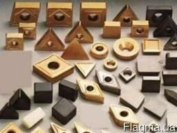 Пластины твердосплавные всех размеров