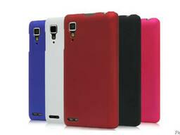 Пластмассовый чехол софтач бархат Lenovo P780 IdeaPhone