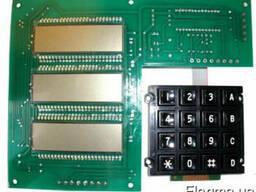 Плата индикации КПГ-1 с клавиатурой OD5.070.002