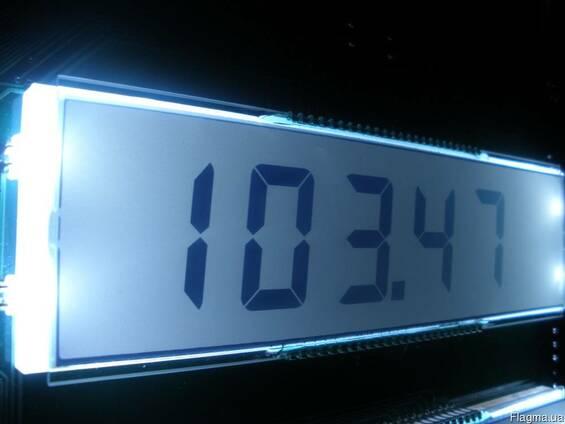 Плата индикации КЗМ-200 с подсветкой OD5.070.002-01