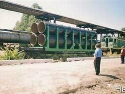 Платформы с контейнерами для перевозки леса