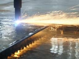 Плазменная резка металла на станке ЧПУ
