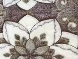 Пледы из микрофибры снежок. 220*200