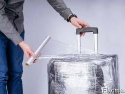 Пленка для упаковки багажа