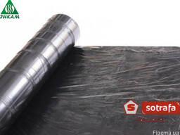 Пленка для мульчирования Sotrafa черная 25 микрон 1, 2х100 м