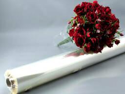 Пленка прозрачная цветочная 600мм х 30 м, толщина 30 мкм