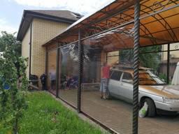Пленка ПВХ 500мкм (0, 5мм) - для навесов, веранд, терасс