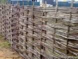 Плетень из орешника. (Украинский тин) - фото 3