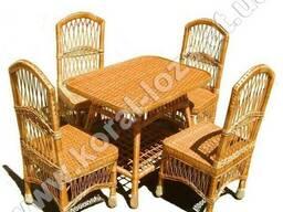 Плетеная мебель из лозы (кресла без подлокотников) 1229-34