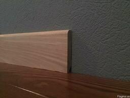 Плинтус массивный деревянный в ассортименте