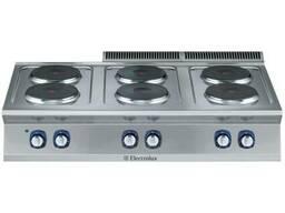 Плита 6 конфорочная Electrolux E7ECEL6R00 371019 настольная