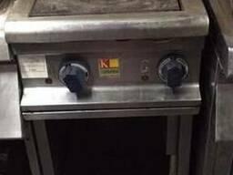 Плита б/у электрическая на 2 конфорки Kogast ESТ27/Р для каф