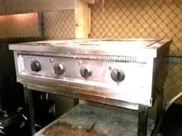 Плита б/у электрическая профессиональная напольная без дух