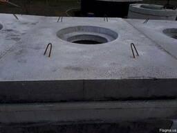 Плита дорожна під люк ПД-6