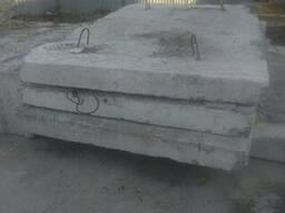 Плита дорожная новая 3000*1700 мм. 5 штук, Блок фундаментный