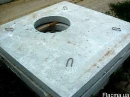 Плита дорожная ПД-6, плита дорожная с отверстием под люк