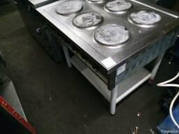 Плита электрическая на 6 круглых конфорок БУ