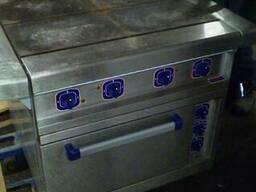 Плита електрична Абат б/у 4 конфорки духовка з конвекцією
