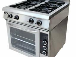 Плита газовая 4-х горелочная ф5жтлпдг с духовкой