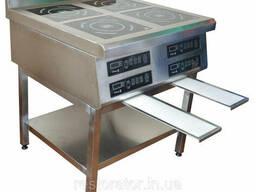 Плита индукционная четырехконфорочная 2, 8 2, 8 2, 8 2, 8 кВ Tehma T8