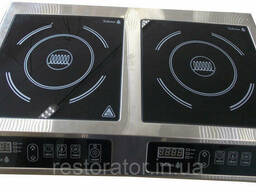 Плита индукционная двухконфорочная 2, 8 2, 8кВ Tehma T3