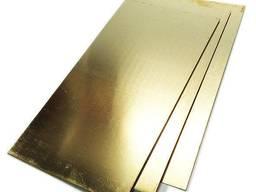 Латунный лист 2мм ЛС59-1 купить, цена, гост, доставка, опт
