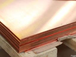 Лист медный мягкий от 0, 4 до 150 мм порезка